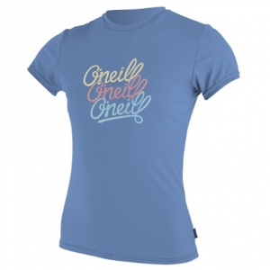 O'Neill Girl's Skins Short Sleeve Rash Tee